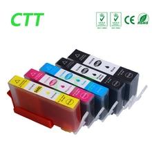 5 шт. HP 564 564XL картридж совместимый для hp photosmart 5510/5511/5512/5514/5515/ 5520/5522/5525/6510/6512/6515/6520 принтера