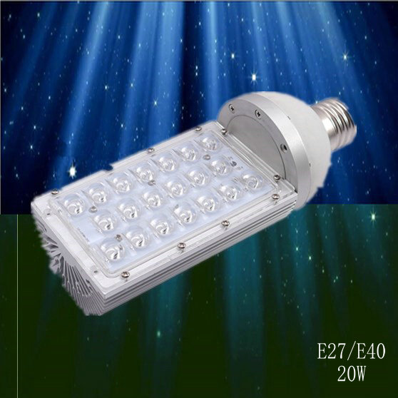 2017 Limited 2018 Time-limited Street Led 4pcs/lot,e40 Light Bulbs With 20w Power, 85 To 265v Ac Voltage, Ce And Rohs-certified
