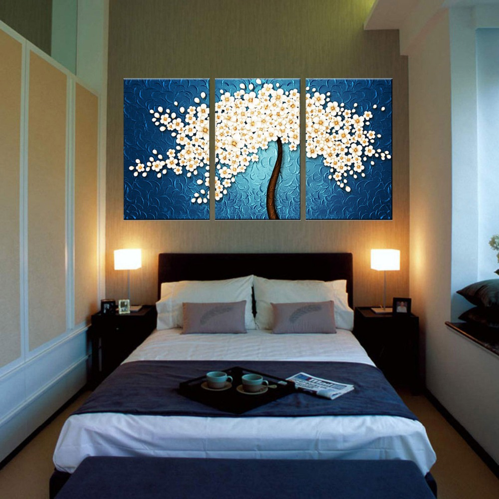 Peinture Huile Abstraite Moderne Peinte Sur Toile Art