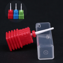 2PCS /Lot Milling Cutter Ceramic Nail Drill Bits Electric Nail Milling Cutter for Manicure tools