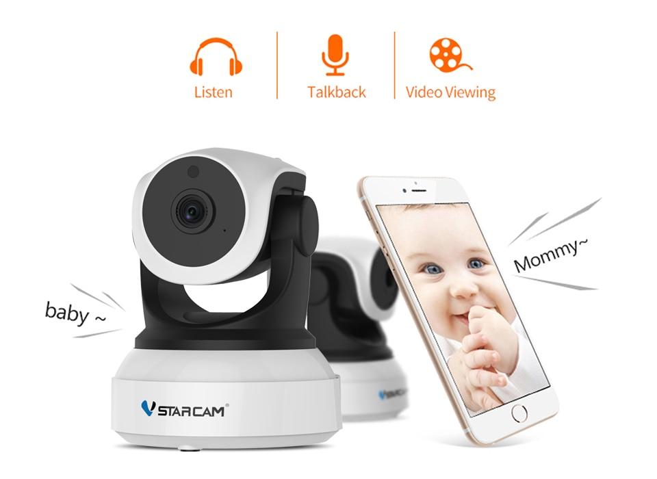 HTB1WwsjaVY7gK0jSZKzq6yikpXao Original Vstarcam 720P IP Camera C7824WIP Wifi Surveillance CCTV Camera Security Camera IR Night Vision PTZ Camera Mobile View