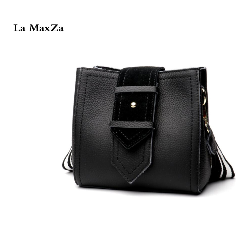 La MaxZa Genuine Leather Top Handle Satchel Handbag Tote Tassel Shoulder Bag Purse Cow Leather Crossbody Bag For Women women bags 2017 original design vintage top handle genuine leather rivets satchel shoulder crossbody handbag big tote