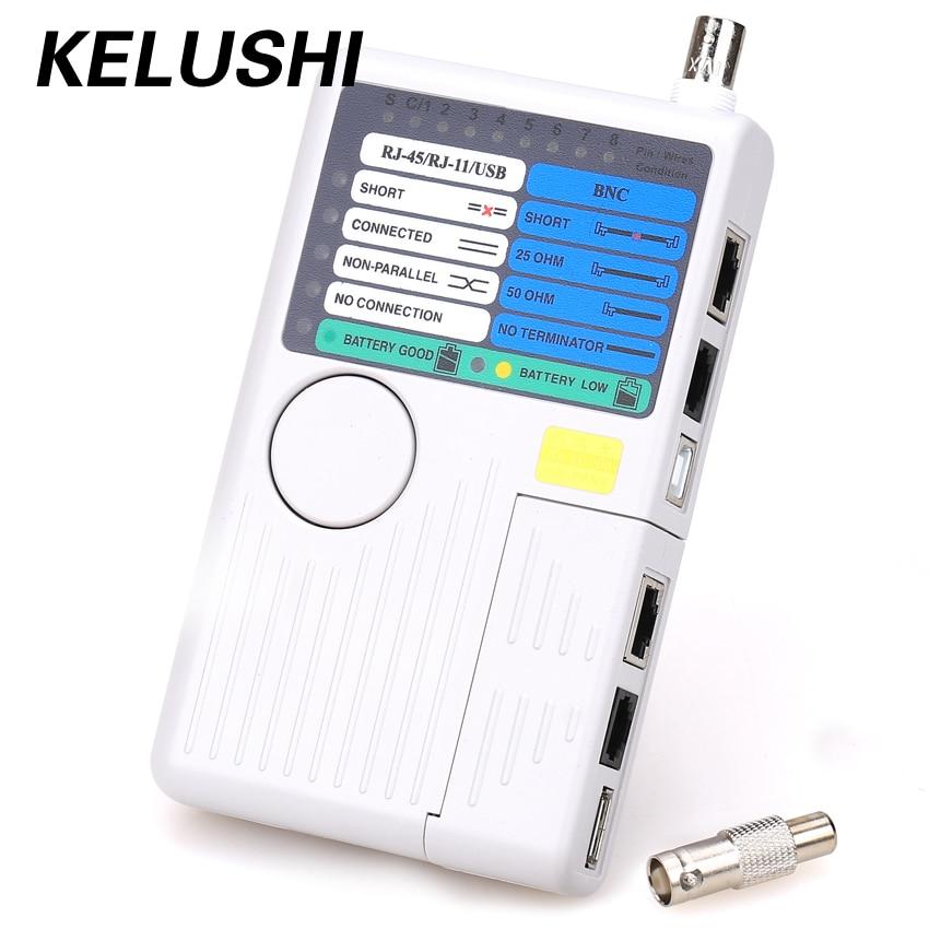 Kelushi Бесплатная доставка! NF3468 4 в 1 RJ11/RJ45 сети lancable локатор с высокое качество