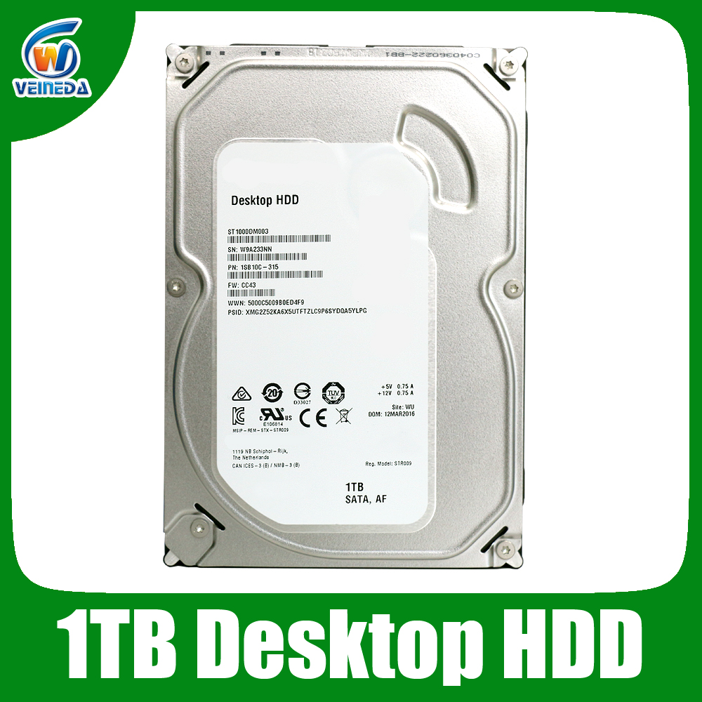 Free Shipping 35 1tb Hdd Hard Disk Drive 64mb 7200rpm Sata3 In Harddisk Internal Wd Blue Sata 3 7200 Rpm Hardisk 1 Tb Drives From Computer Office