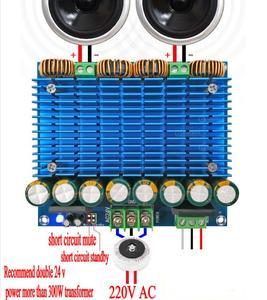 Image 1 - Placa de Amplificador de Audio Digital TDA8954 TH 420W + 420W, Amplificador estéreo clase D de doble canal