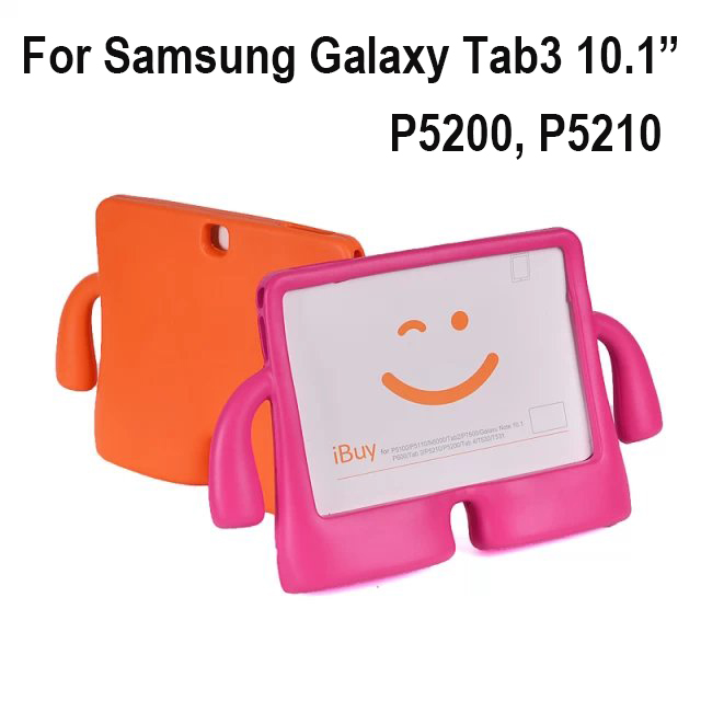 For Samsung Galaxy Tab 3 tab3 10.1 P5200 P5210 Case Cover EVA Foam Washable ShockProof Tablets Protective skin+Screen Film+gifts