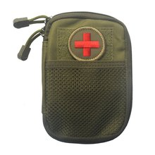Portable Military First Aid Kit Empty Bag Out Bag Water Resistant For Hiking Travel Home Car Emergency Treatment(China)