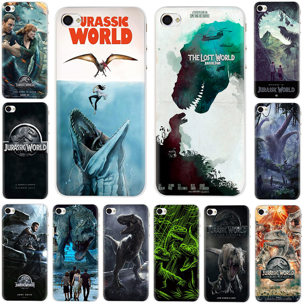 pretty nice 01ed9 938ff US $1.74 33% OFF|Jurassic Park Dinosaur Jurassk World Hard Phone Cover Case  for Apple iPhone 5 5S SE 6 6S 7 8 Plus X XR XS MAX-in Half-wrapped Cases ...