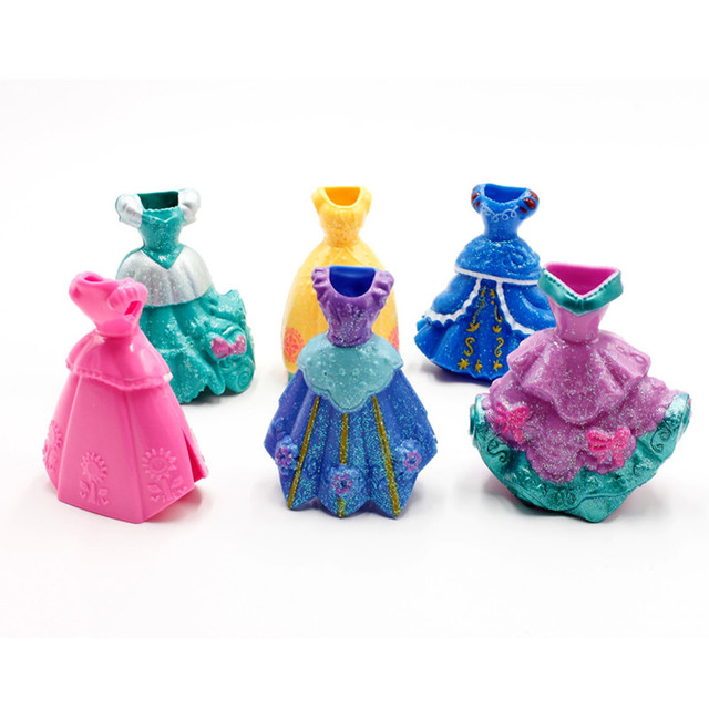 Disney Princess Elsa Snow White Sofia Action Figures 12pcs/Lot 10cm