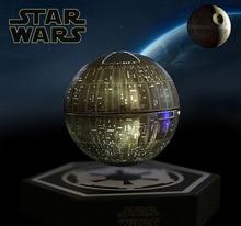 Original Star Wars STARWARS todesstern maglev bluetooth wireless stereo rotierenden 360 grad lautsprecher magnetschwebebahn sound