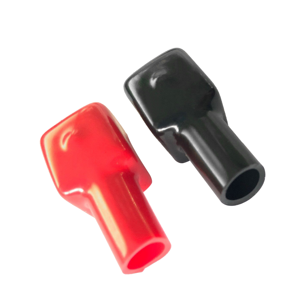 Battery Terminal Covers >> Us 1 14 37 Off Universal Battery Terminal Covers Marine Battery Terminal Boots Red Black Positive Negative 1 Pair 192681 192682 In Car Batteries
