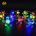 4M Christmas Decoration LED String Lights Ball Cherry Rose Battery Wedding Birthday Party Decoration Lightings holiday strings