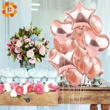 14pcs 12inch 18inch Multi Air Balloons Happy Birthday Party Helium Balloon Decorations Wedding Festival Balon Party Supplies