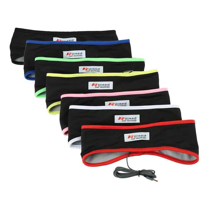 Uneed Fabric Earphone Comfortable Sleeping Headphone Sports Headband Headset