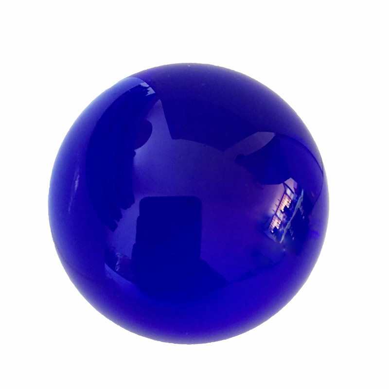 100mm Crystal Ball 1pcs Dark Sapphire With Base Round Glass Artificial Crystal Healing Ball For Home Wedding Decoration100mm Crystal Ball 1pcs Dark Sapphire With Base Round Glass Artificial Crystal Healing Ball For Home Wedding Decoration