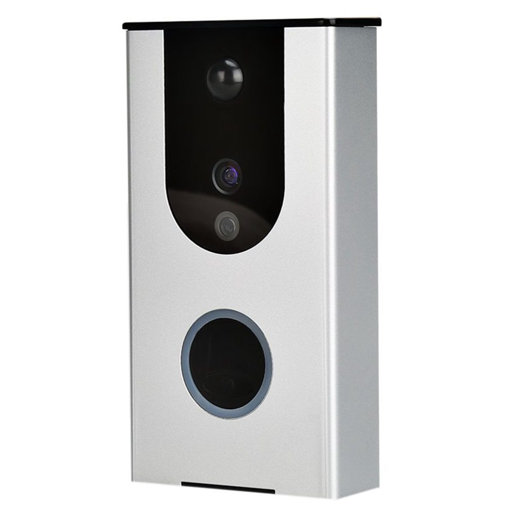 цена MOOL Wi-Fi video doorbell camera, wireless doorbell camera, motion detection, night vision, two-way audio surveillance camera