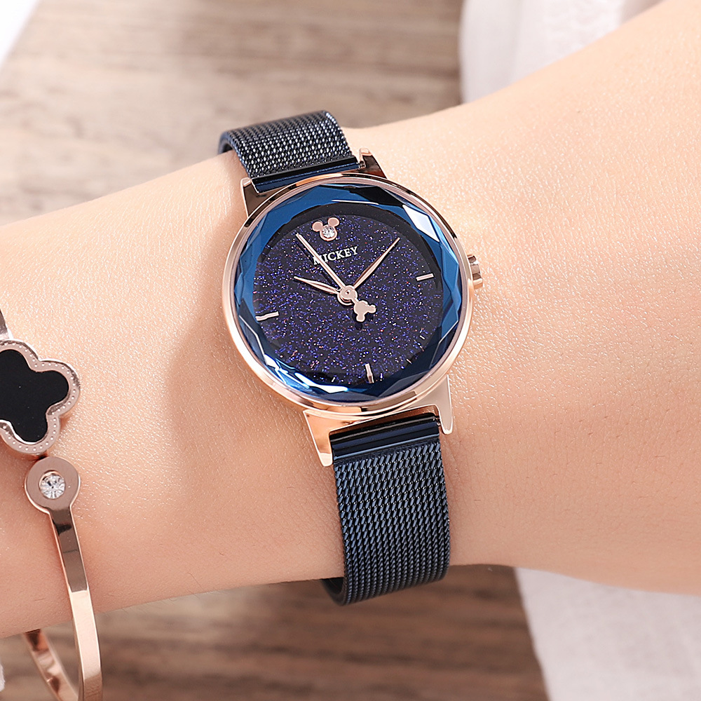 woman fashion wristwatches stainless steel quartz ladies clocks Disney brand mickey watches waterproof diamond Citizen movement woman bracelet watches rose gold disney brand women clocks stainless steel mickey mouse luxury diamond 30m waterproof wristwatch