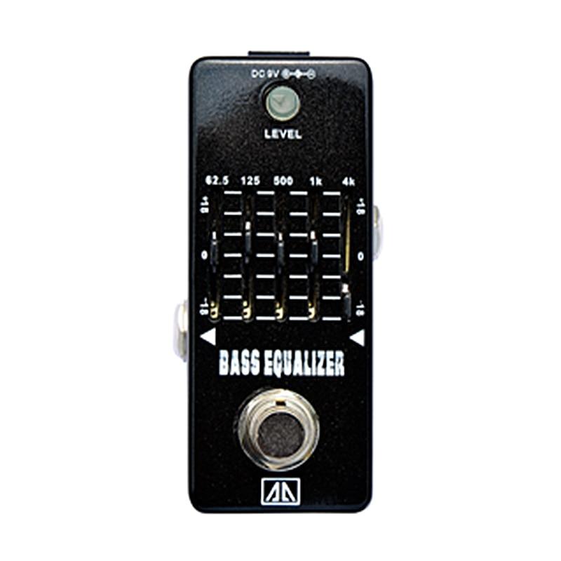5-band Bass Equalizer Bass Effect Pedal 18dB gain range True bypass AA Series Analogue Effects for Bass Guitar mooer ensemble queen bass chorus effects effect pedal true bypass