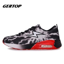 Hight quality Men Running Shoes Lace Up Light Runing Mesh Sport Shoes Breathable For Men