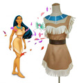 Pocahontas Journey to a New World  Indian Tribe Princess Little Mischief Cosplay Indian Costume Halloween Costumes for Women