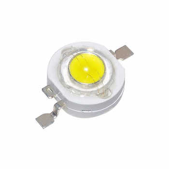 100pcs 1W LED Light Diodes Chip Spot Light Downlight Diode Lamp Bulb For 1W-18W