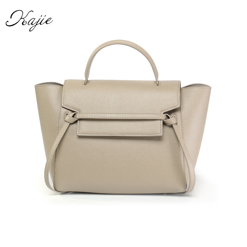 Kajie Catfish Genuine Leather Luxury Handbags Women Shoulder Bags Designer Famous Brands Tote Female Gray Fashion Bolsa Feminina ludesnoble luxury handbags women bags designer shoulder bag female bags women bags handbags women famous brands bolsa feminina