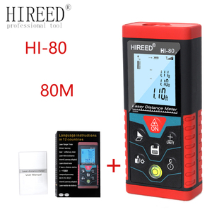 Image 2 - HIREED เลเซอร์ 40M 120M 100M Digital Rangefinder trena เลเซอร์ช่วง Finder สร้างวัดอุปกรณ์ไม้บรรทัด