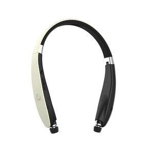 Image 2 - Kablosuz Bluetooth gerdanlık SX 991 V5.0 spor Stereo SX991 kulaklık kulaklık için MIC ile bas IPhone LG Android Fone De Ouvido