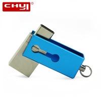 USB Flash Drive 32 GB OTG Métal USB 3.0 Pen Drive 64 GB Type C Haute Vitesse Mini-Clé usb Flash Drive Memory Stick 16 GB 8 GB U disque