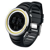 Homens Digital Sports Watch Correndo Escalada Previsão do Tempo Termômetro Relógio Temporizador de Contagem Regressiva Cronômetro Mens Relógio