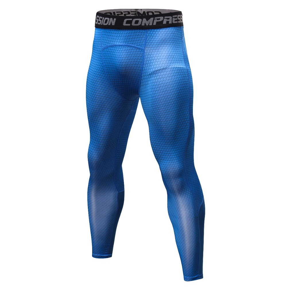 2018 Joggers Pants Men Compression Sweat Exercise Workout Skin Tight Pants Tights Crossfit Leggings Quick Dry Trousers Men
