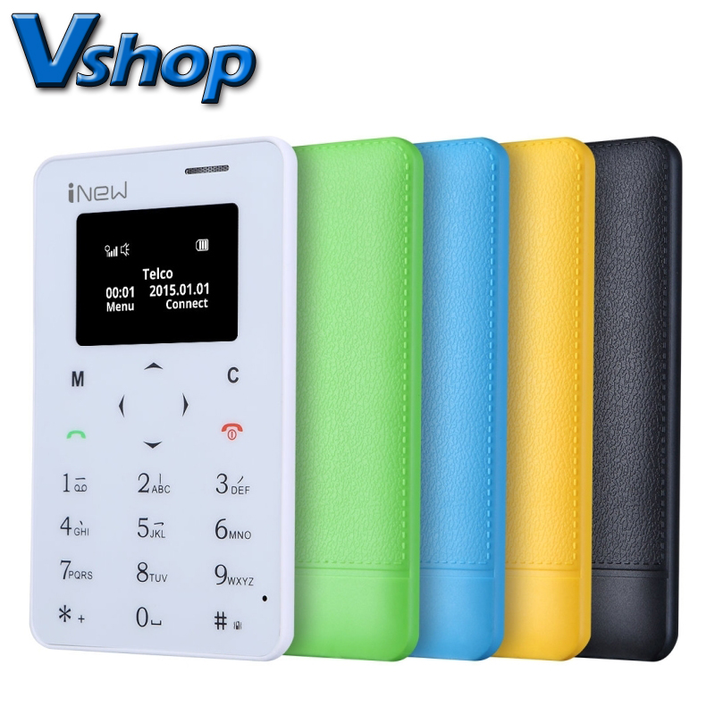 Portable iNew Mini 1 Cheaper Mobile Phone 0 96 inch MTK6261D Single SIM 320mAh Battery Smartphone