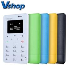 Портативный iNew Мини 1 Дешевый Мобильный Телефон 0.96 дюймов MTK6261D Одноместный SIM 320 мАч Батареи Смартфон Поддерживает Сети GSM