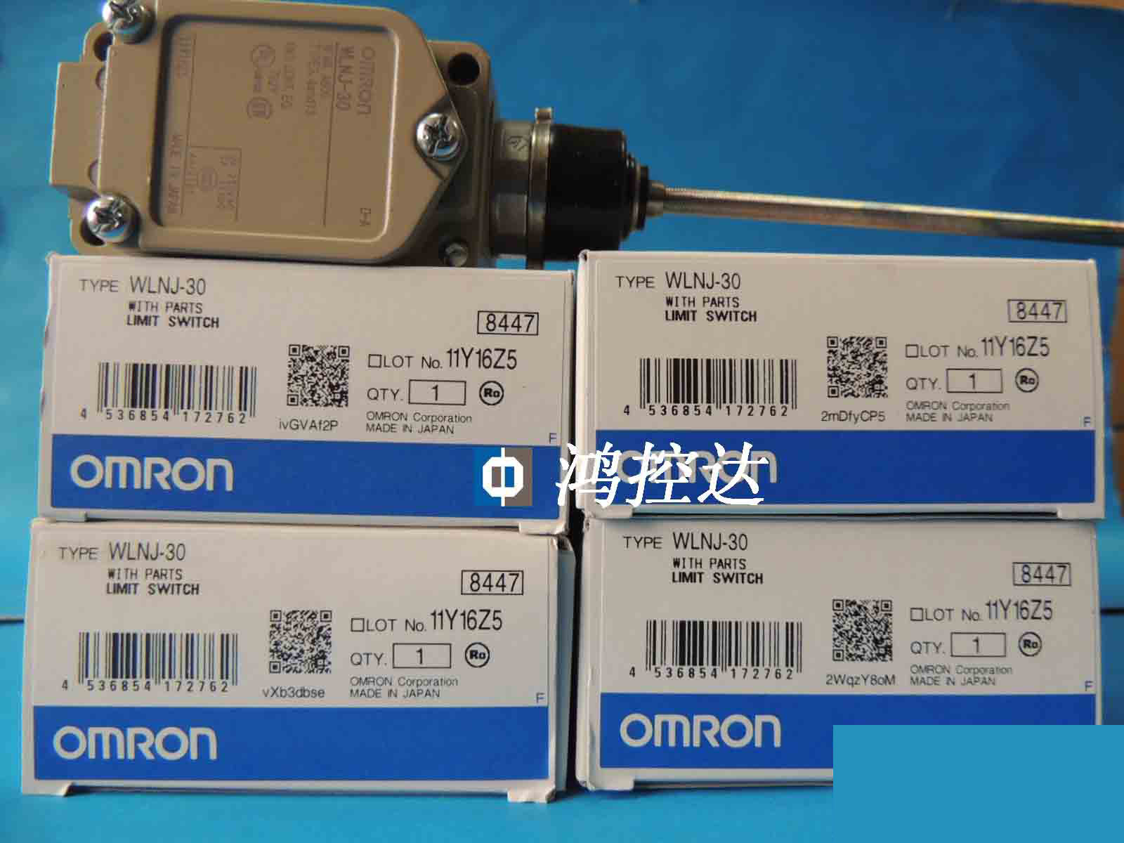 New OMRON Travel Switch WLNJ-30New OMRON Travel Switch WLNJ-30