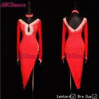 latin dance dress women salsa rumba modern dance costumes latin dress dancing clothes Dancewear dress latin kids salsa dress