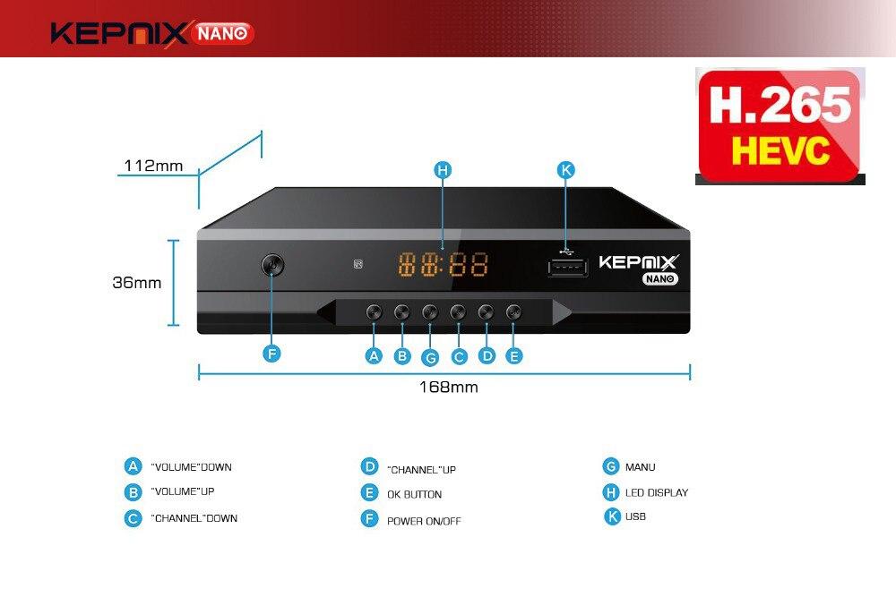 US $921 19 6% OFF|Kepnix nano 50pcs iptv m3u xtream metal case Satellite  Receiver Support PowerVu autoroll avs+ Biss ccam Youtube Wifi 2XUSB AV-in