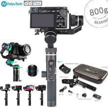 FeiyuTech G6 плюс 3 оси брызг ручной карданный изображения для GoPro действий Камера/телефонов/беззеркальных Камера s/карман Камера