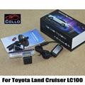 Safety Laser Fog Lights For Toyota Land Cruiser LC 100 LC100 1998~2007 / Car Collision Warning Anti-Rear Fog Lamp / Car Styling