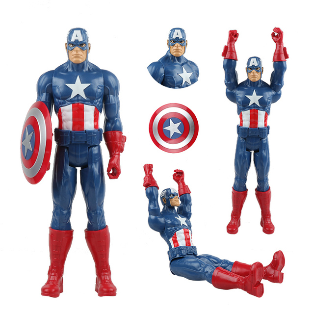 marvel avengers toy set 4