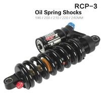 DNM MTB Oil Spring Rear Shock Absorber 190/200/240mm Soft Tail Frame Rear Shocks RCP3 for AM/FR/DH