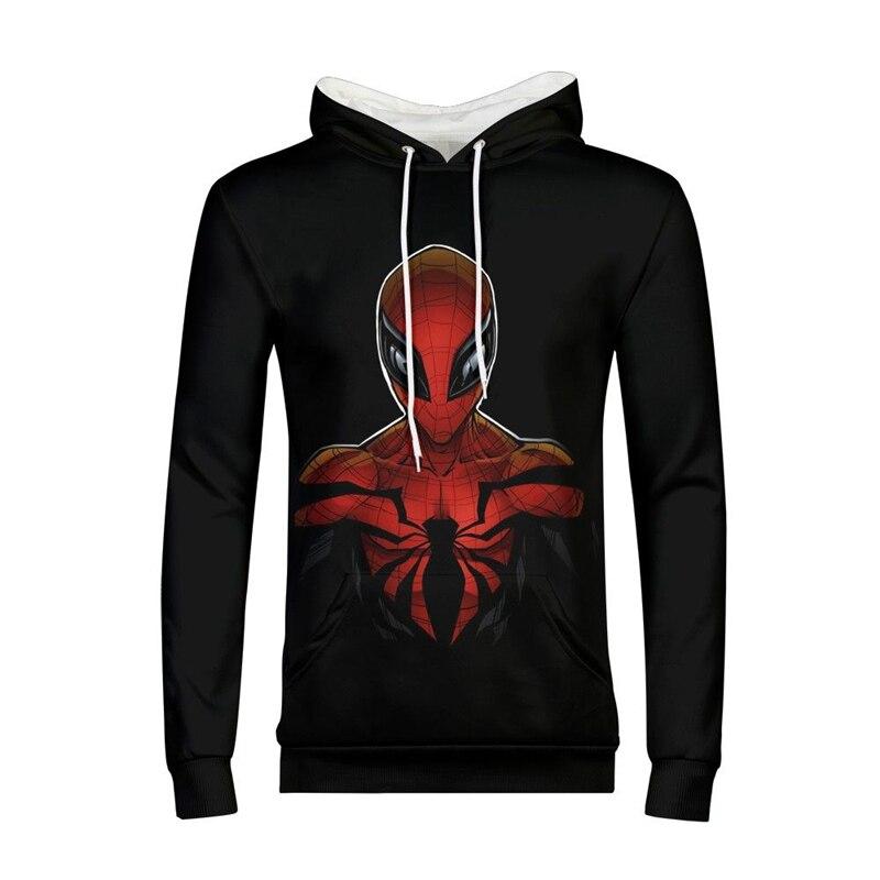 Nouveau Designer Deadpool hommes sweats à capuche imprimés dessin animé les Avengers 3D Sweatshirts mode hiver Hip Hop Swag Sweat à capuche