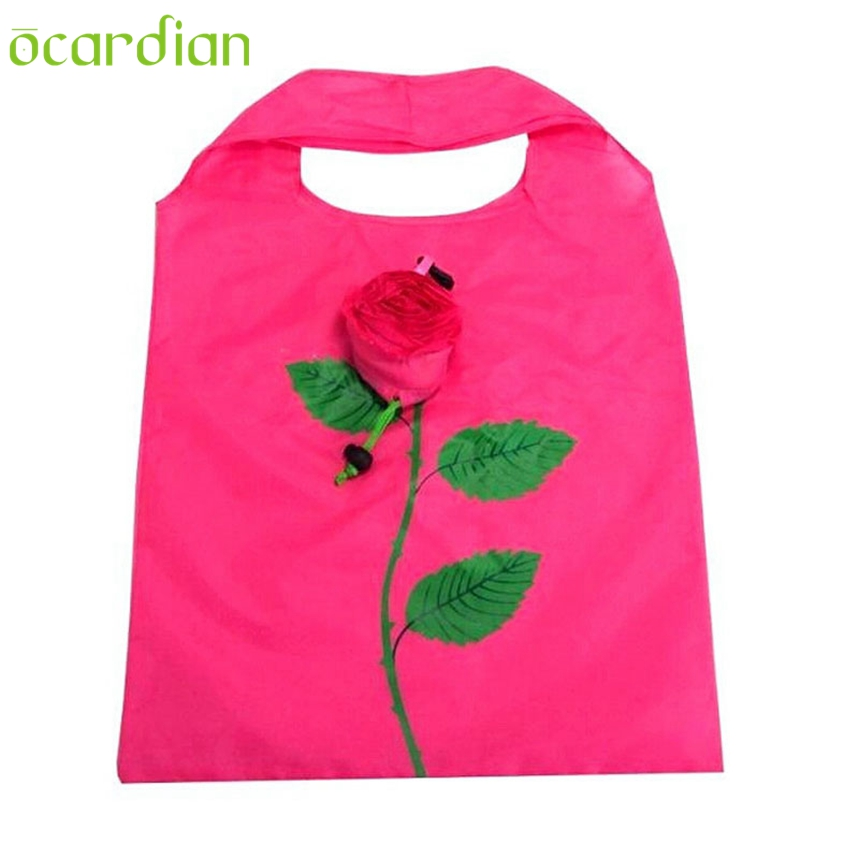 2017 Women Designer Handbag Tote Foldable Reusable Shopping Grocery Bags Beach Mesh Bag #N20 F803