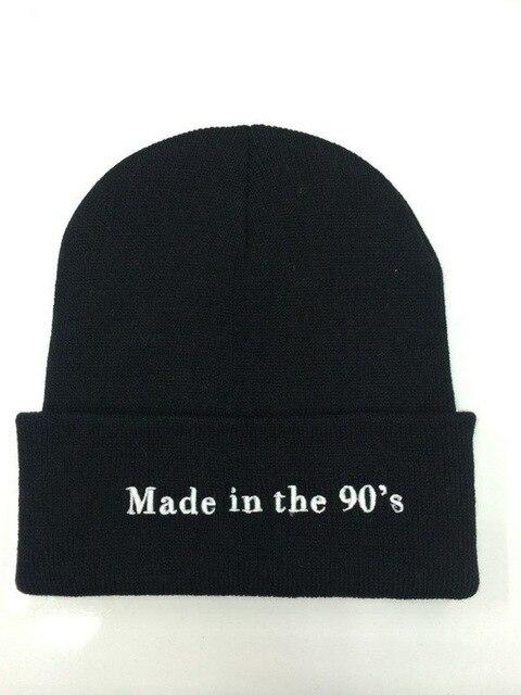 2016 nuevo negro de la gorrita tejida sombreros y gorras para los hombres/mujeres de los deportes hip hop calle sombrerería invierno gorro de lana al aire libre de buena calidad barato