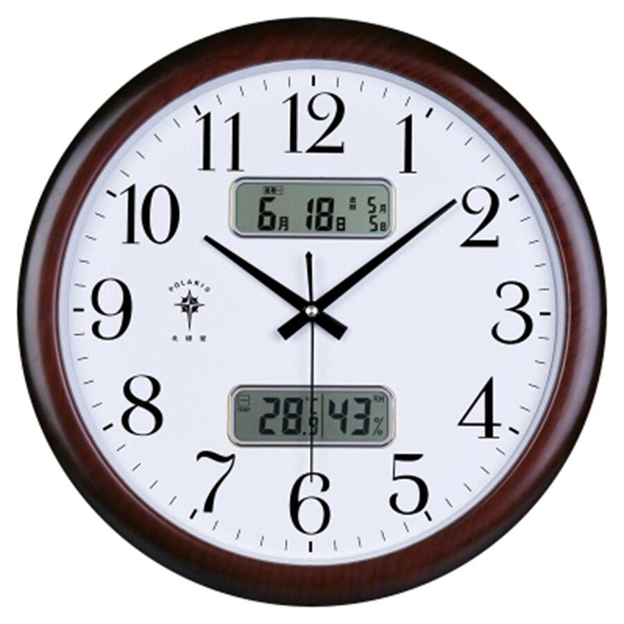 3D Large Digital Glass Wall Clock Modern Design Mechanism Silent Kitchen Nordic Clock Horloge Wall Clocks Home Decor 50CW349