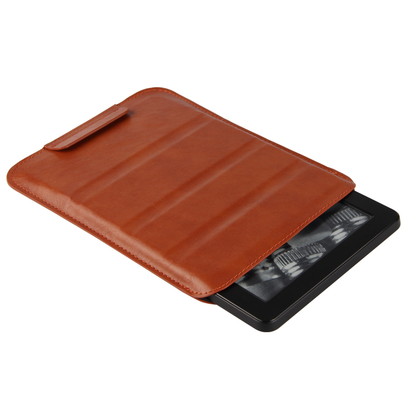 Case Sleeve For Kindle Paperwhite Protective eBook Reader Smart Cover leather For Amazon Kindle Paperwhite1 3 2 PU Protector 6''