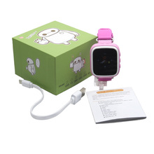 Child GPS Smart Watch Q80 Wristwatch SOS Call Location Finder Locator Device Tracker for Kid Safe Anti Lost Monitor PK q50 q100