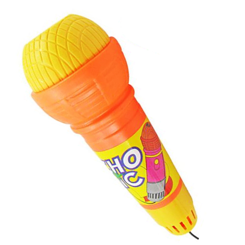 Echo Microphone Mic Voice Changer Toy Birthday Present