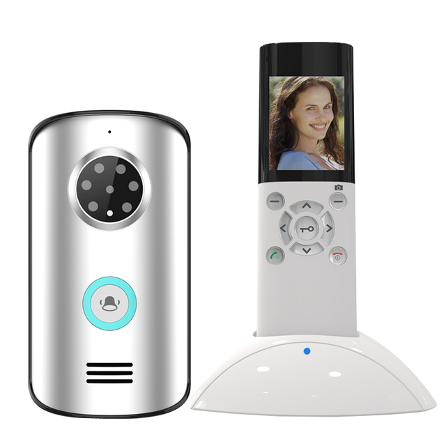 JERUAN New 2.4G Home Wireless Video Door phone doorbell Intercom System Waterproof IR Night Vision Camera