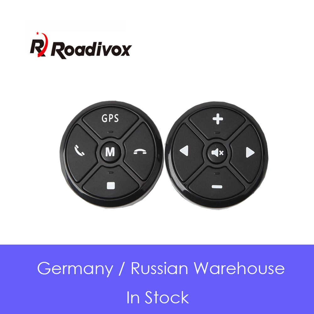 Controller Remote-Control-Buttons Radio Steering-Wheel Music Universal Wireless 4key