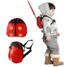 Citygirl Ladybug Baby Kid Toddler Keeper Walking Safety Harness Backpack  Leash Strap Bag 3cac0d60bb79b